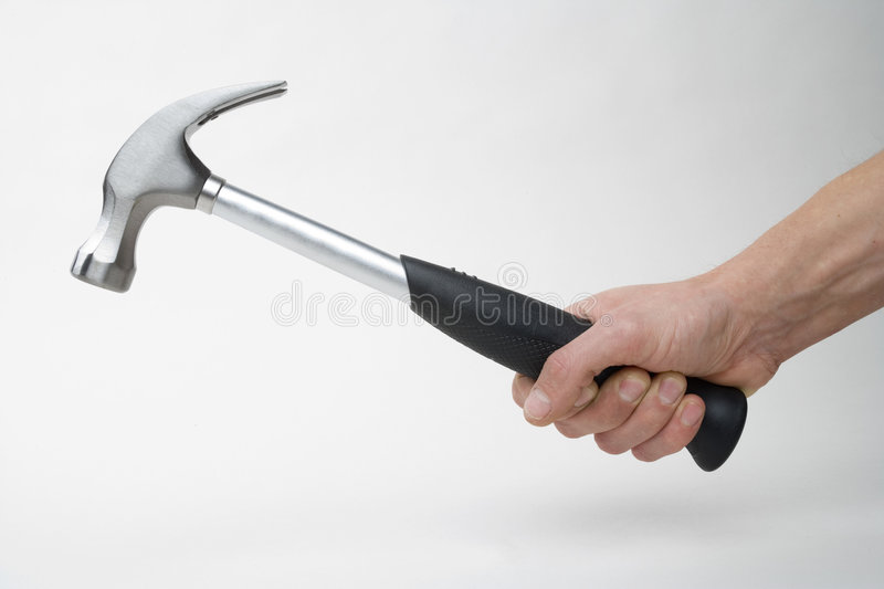 A hammer royalty free stock photography