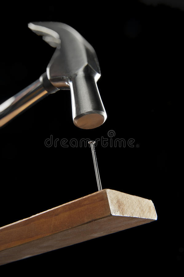 Free Hammer And Nail Royalty Free Stock Images - 22816149
