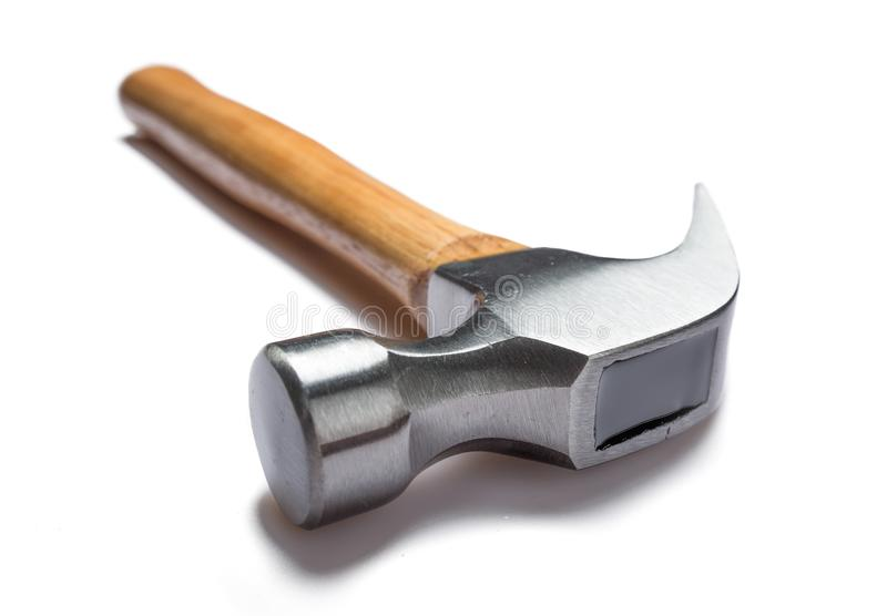 Claw hammer royalty free stock photo