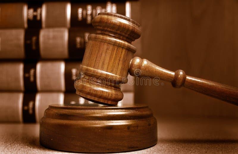 Hammer des Richters stockbild