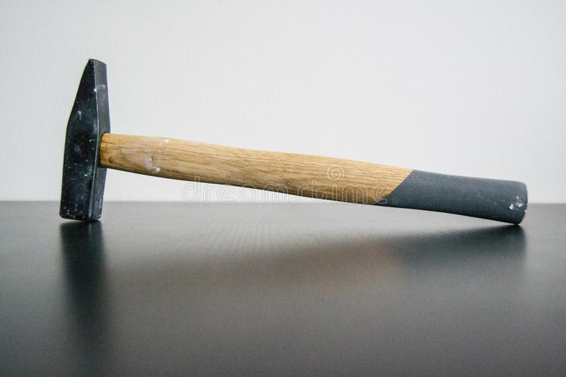 Hammer for DIY. One little hammer. One piece of tools. Accessories for all right doyles stock photos