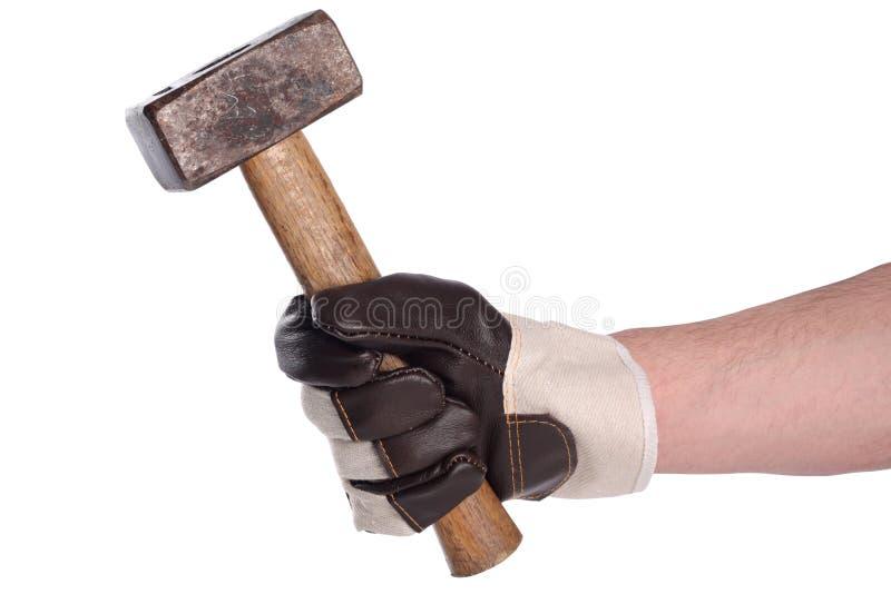 Hammer IV lizenzfreie stockbilder