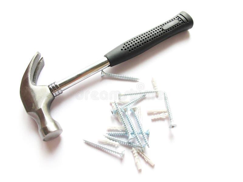 Hammer and screws