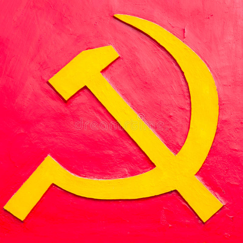 Hammer And Sickle Royalty Free Stock Images