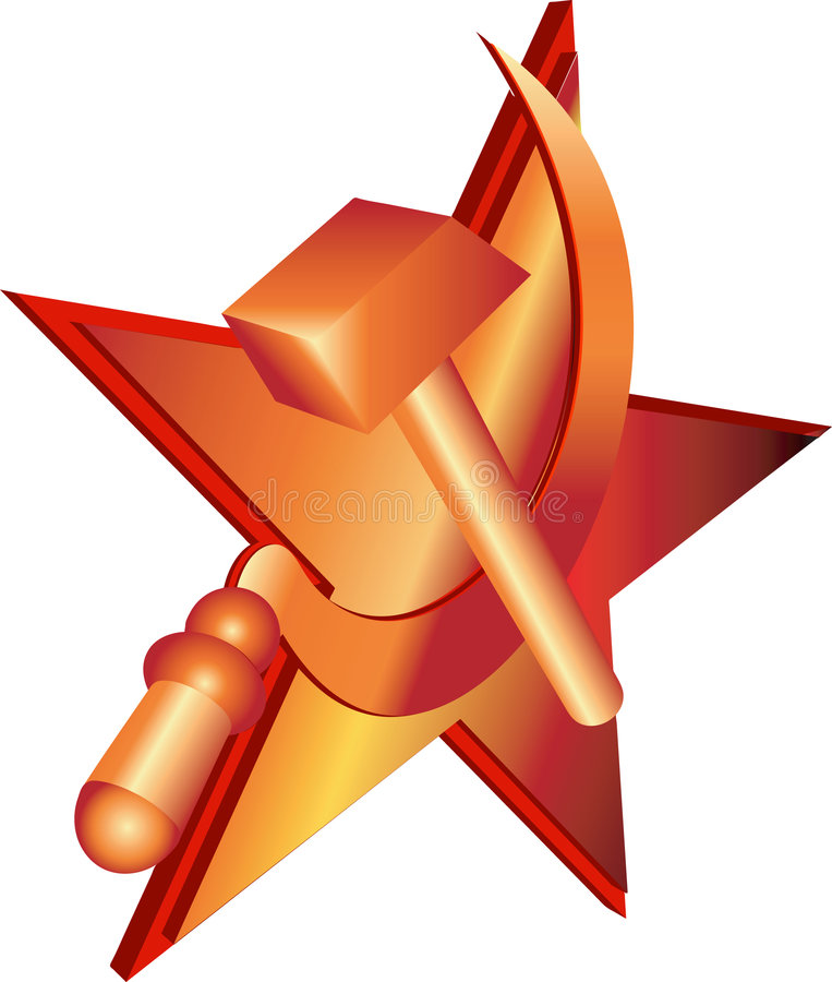 Hammer And Sickle Stock Image