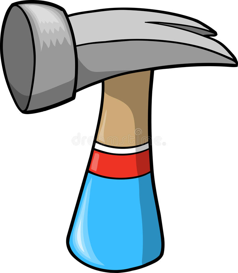 Vector Illustration Hammer: Hammer Vector Illustration Stock Vector. Illustration Of