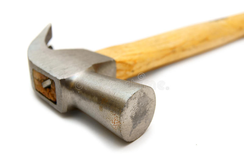 Download Hammer On White Background. Stock Photo - Image: 23982260