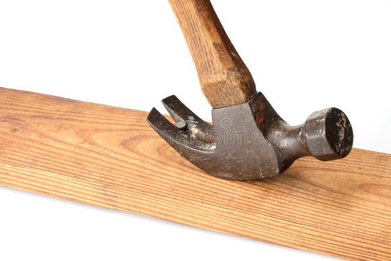 hammer wyrywanie paznokci zdjęcia stock