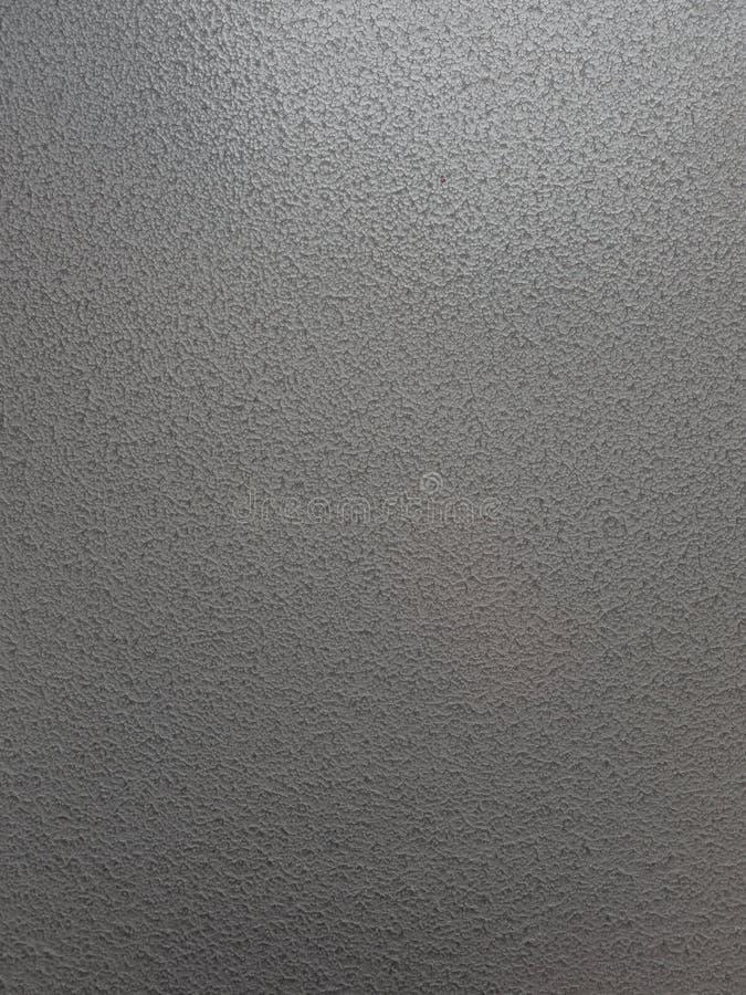 Hammered maserte Effektsilberne graue gemalte Stahlplatte lizenzfreie stockfotografie
