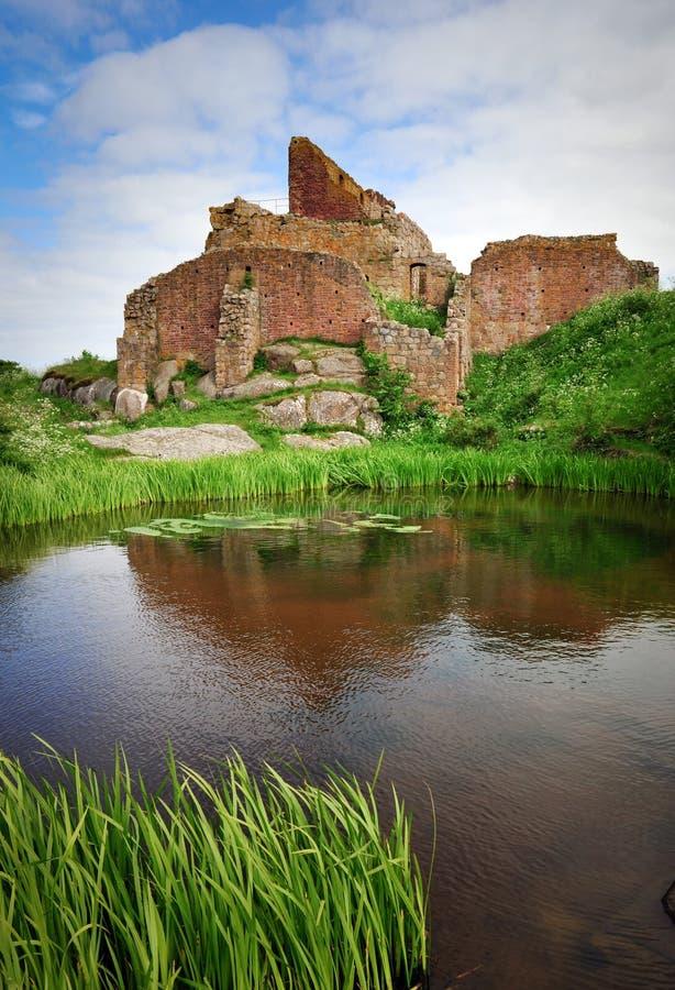 Download Hammershus Castle On Bornholm Island Stock Image - Image of ancient, island: 16685691