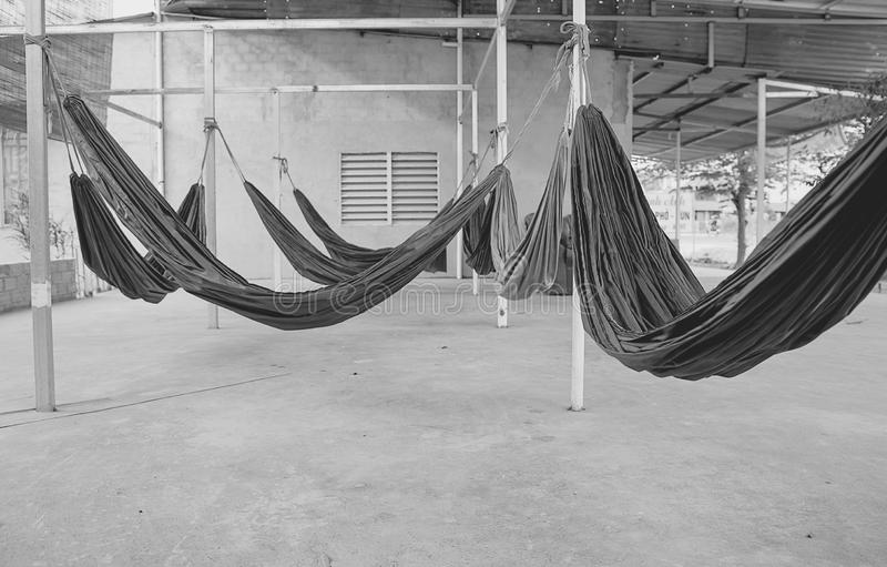 Hammock. S in Vietname to stay royalty free stock image