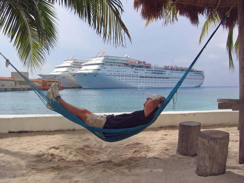 Hammock Relaxation stock images