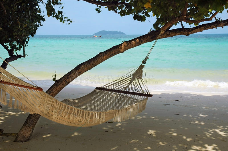 Download Hammock with a view stock photo. Image of paradise, luxuy - 19969310