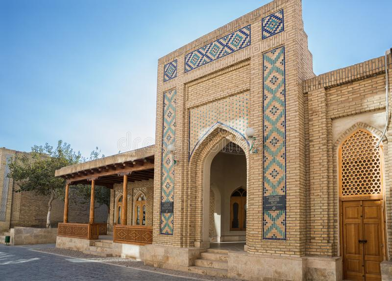 Hammomi Sarrafon i Bukhara royaltyfri bild