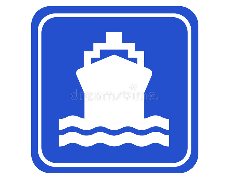 Download Hamn stock illustrationer. Illustration av indikation, ledtråd - 514217