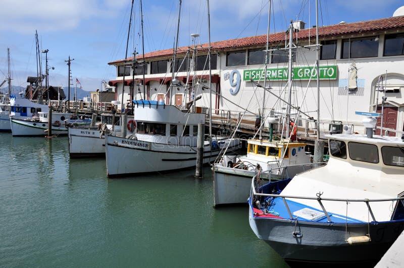 hamnplats för fiskare s arkivbild