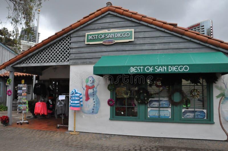 Hamnstadby i San Diego, Kalifornien fotografering för bildbyråer