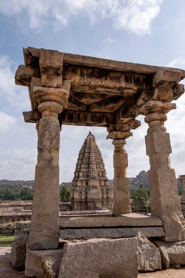 Hampi Hindu Temple royalty free stock photo