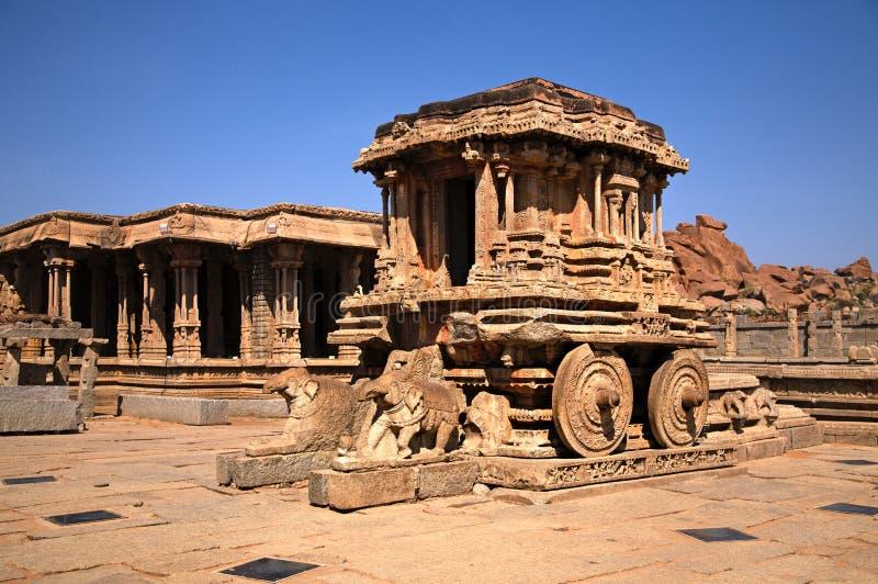Hampi Indien fotografering för bildbyråer