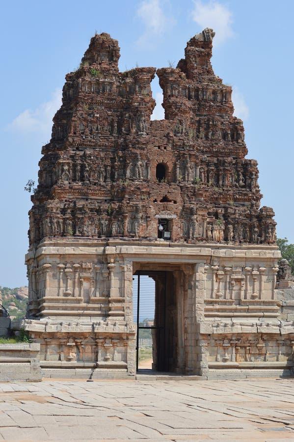 Hampi Karnataka, Indien arkivfoto