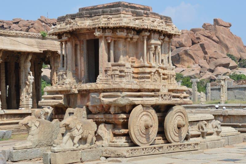 Hampi Karnataka, Indien arkivfoton