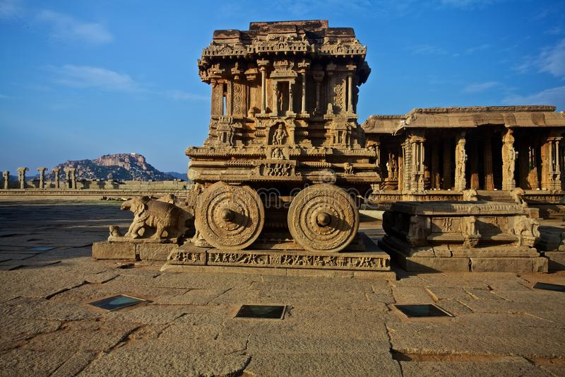 Hampi, temple indien photos libres de droits
