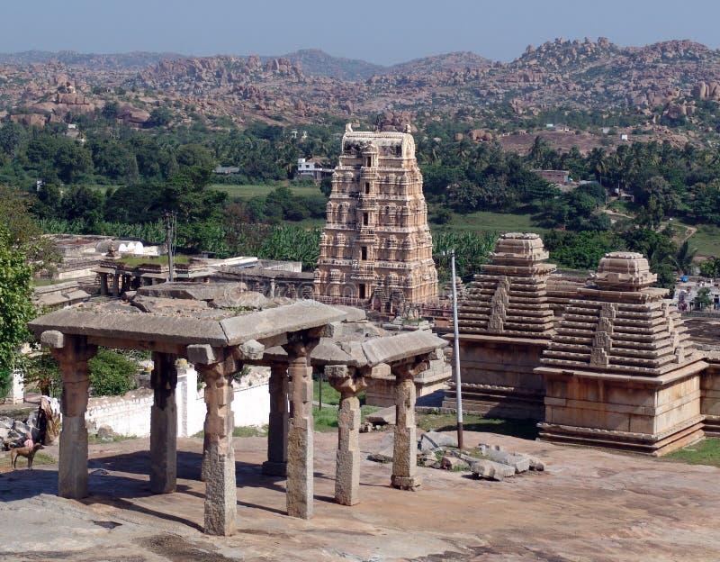 Hampi, Vijayanagar royalty free stock photography