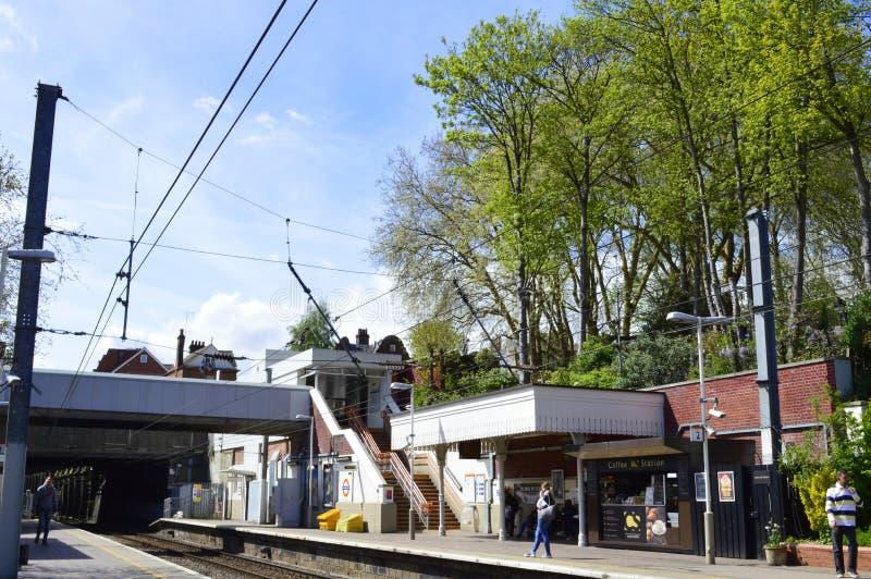 Hampstead Heath Overground Tube Station en Londres Reino Unido fotos de archivo libres de regalías