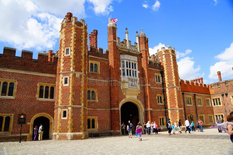 Hampton Court photographie stock libre de droits
