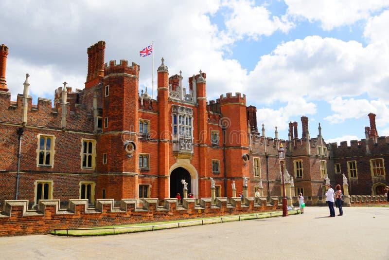 Hampton Court imagem de stock