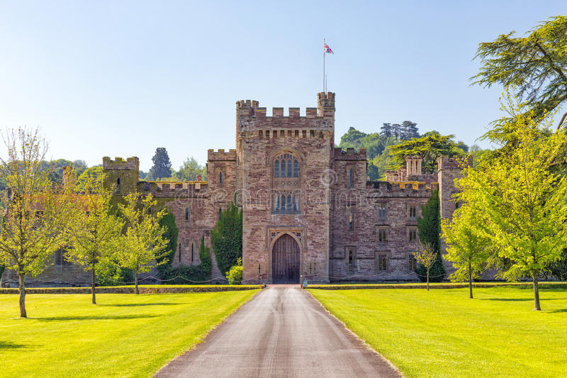 Hampton Court Castle, Herefordshire, England. royalty free stock images