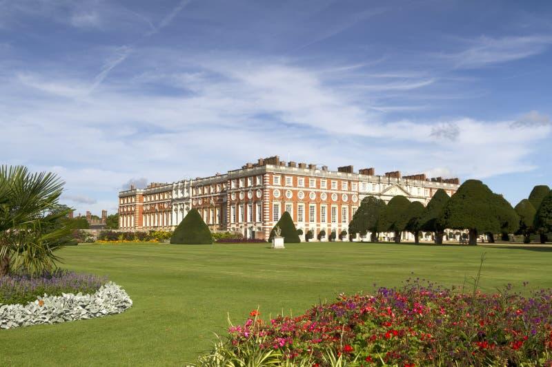 Download Hampton Court Palace stock photo. Image of grass, english - 20944440