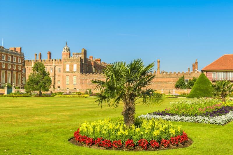 Hampton Court Palace stock afbeeldingen