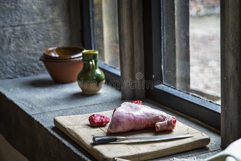 Hampton Court Palace, cucina reale immagine stock libera da diritti