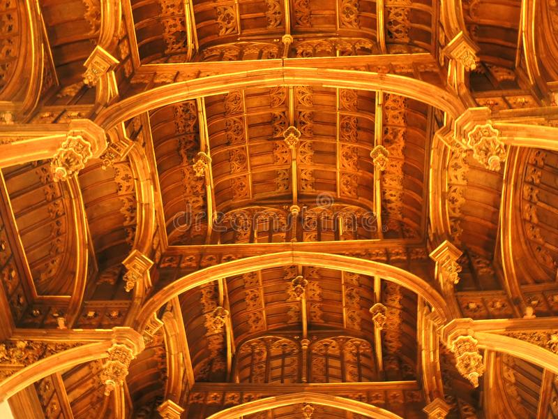 Hampton Court Palace -. Hampton Court Palace Gateway roof of the great hall stock photos