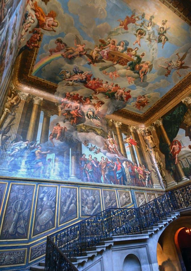 Hampton Court-Palast stockbild