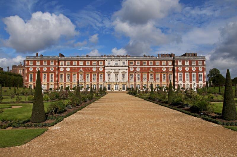 hampton dworski pałac zdjęcia stock
