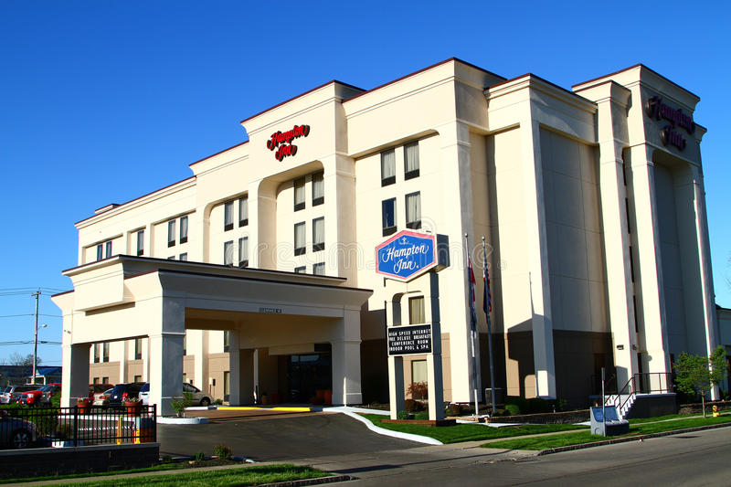 Hampton Inn stockfotos