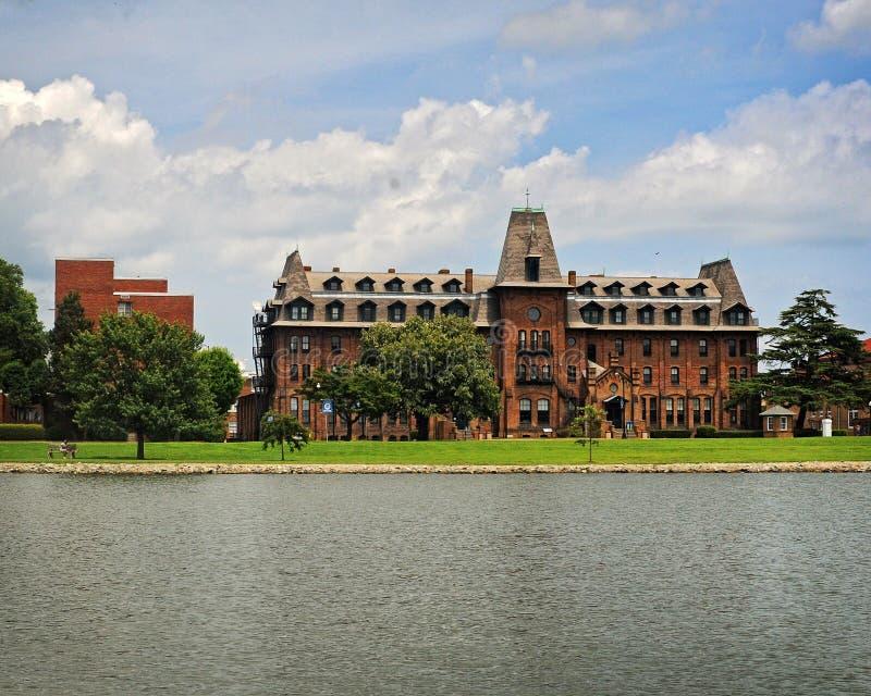 Hampton University fotografia stock libera da diritti