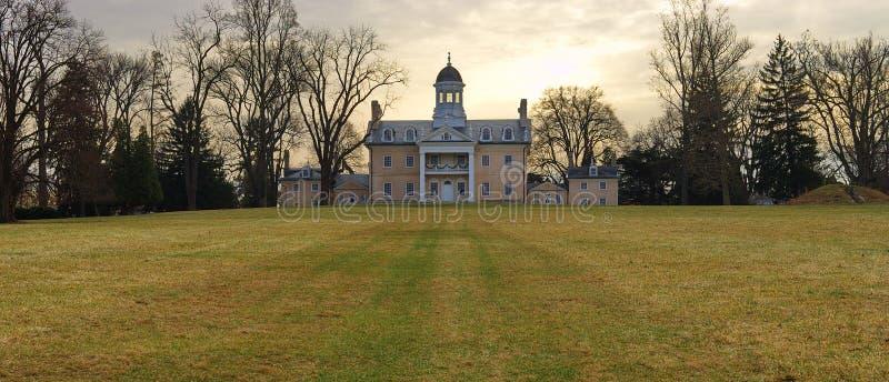 Hampton-Villa lizenzfreie stockfotografie