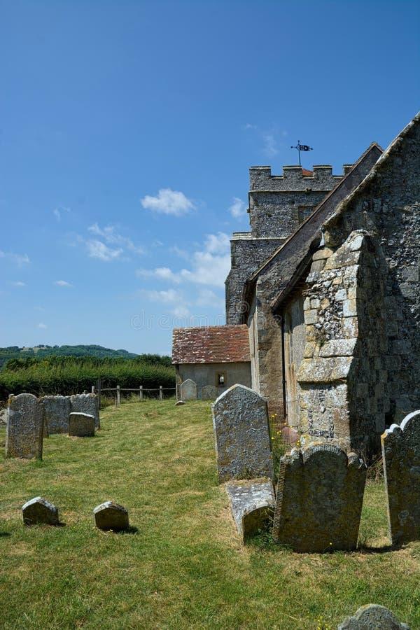 Hamsey, la chiesa di peste, vicino a Lewes, Sussex, Regno Unito immagine stock libera da diritti