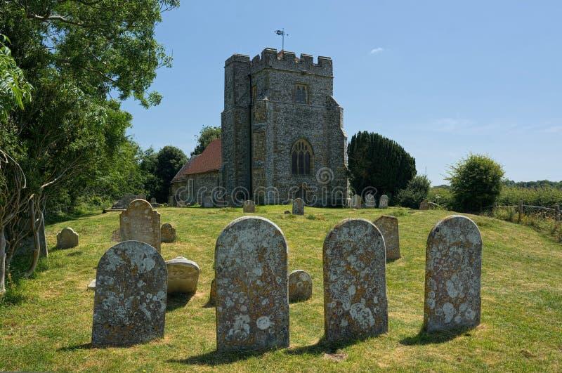 Hamsey, la chiesa di peste, vicino a Lewes, Sussex, Regno Unito fotografia stock