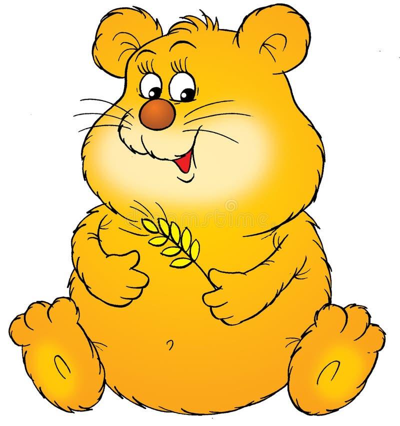 Hamster ilustração do vetor