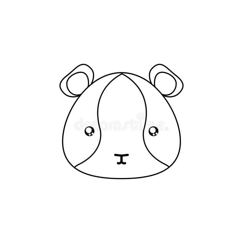 download hamster drawing face stock vector image of face design 86207755