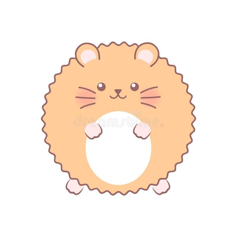 Hamster macio Ilustração do vetor ilustração royalty free