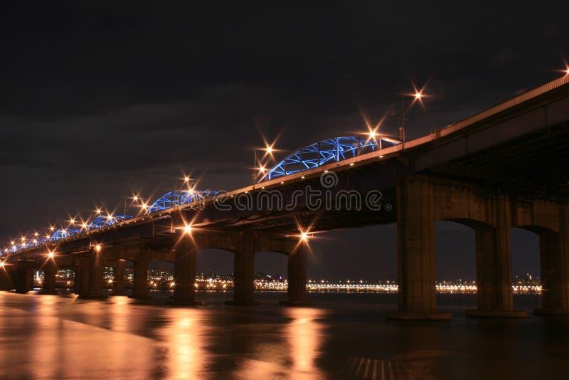 Han River Bridge stock images