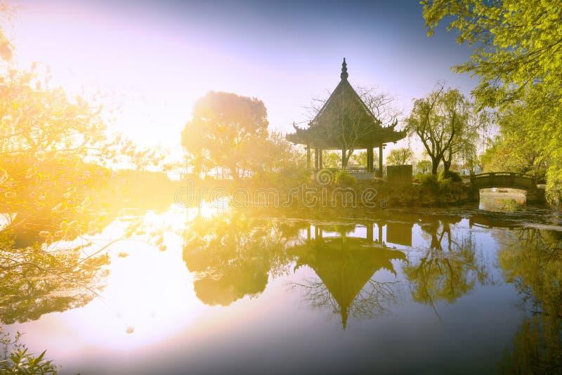 Han Xu Pavilion stockbilder