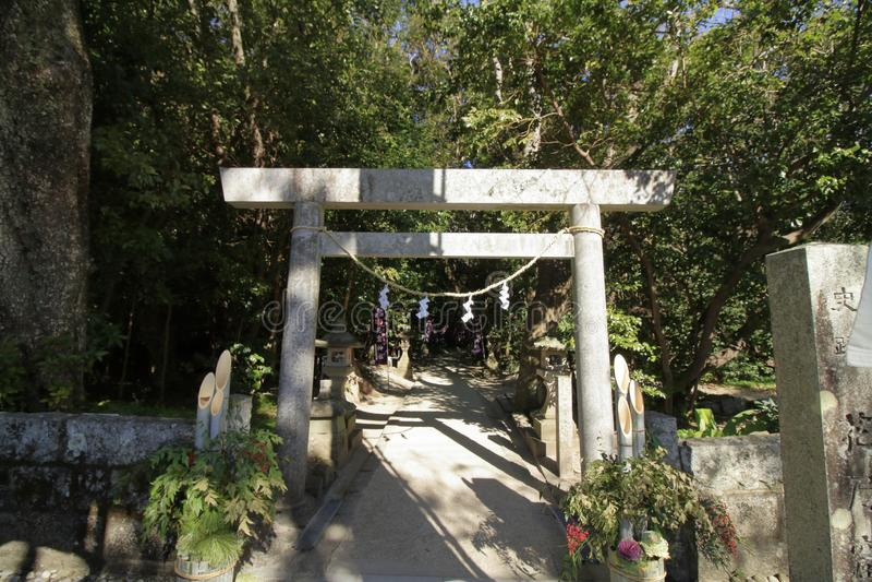 Hana aucun tombeau d'Iwaya image libre de droits