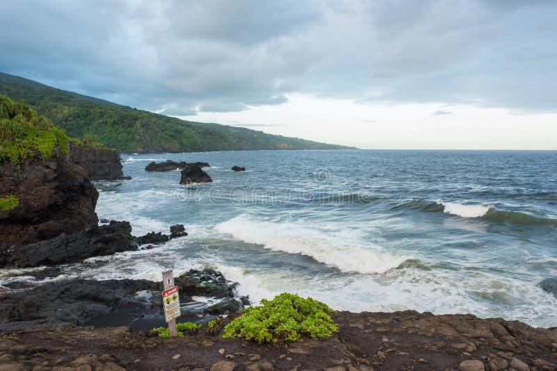 Hana, Havaí imagens de stock