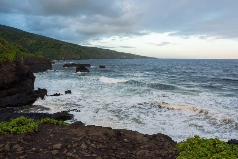 Hana, Hawaii. royalty free stock images